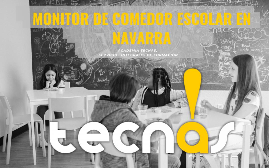 Monitor de Comedor Escolar en Navarra | Curso Online y Título Oficial